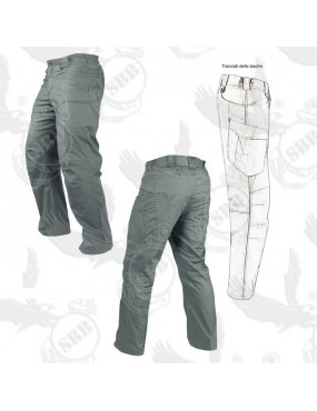 STEALTH RIPSTOP 610T URBAN GREEN TROUSERS SIZE 34-34 (50) CONDOR-SBB [30167...