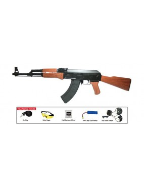 AK47L FULL METAL CLASSIC ARMY SPORTLINE [SP007M-1]